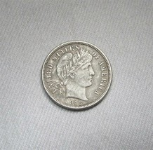 1916-P Silver Barber Dime AU Coin AH519 - $43.47