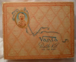 Vintage Vanta Bath Kit for the Baby - box only - $7.85