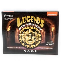 Legends of the Hidden Temple Board Game Pressman Nickelodeon Retro 90s - $15.70