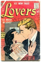 Lovers #82 1956- Atlas Romance Comic -Career Girl- Colletta cover G- - $31.53