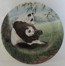 Secret World of the Panda A Gentle Hug Collector Plate - $19.99