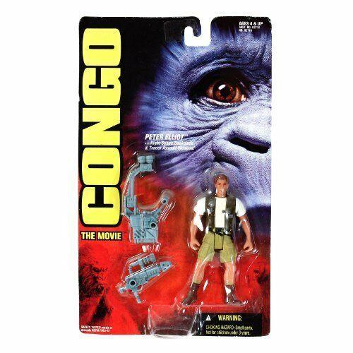 Congo The Movie 1995 Peter Elliot Action Figure NIB Kenner NIP - $18.55