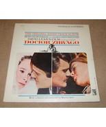 MGM Doctor Zhivago Original Sound Track Album S1E-6ST Vintage Plastic - $4.44