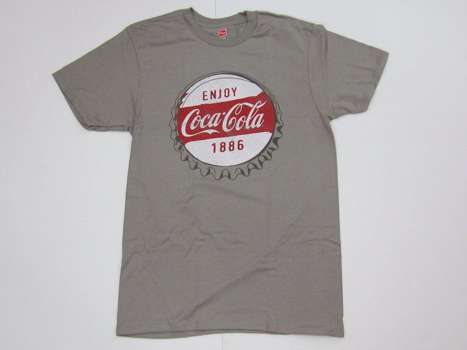 Coca-Cola Black Long Sleeve Tee T-shirt White Letters Coke 3X-Large