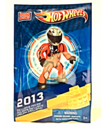 New Mega Bloks 2013 Exclusive Hot Wheels Figure Collectible Unopened - $4.00