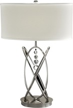 Table Lamp DALE TIFFANY JUPITER 1-Light Polished Nickel - $442.00