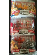 Marvel Figures Lot of 3 Superhero Squad - $28.04