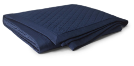 Ralph Lauren Bedford Jacquard King Quilt Quilted Coverlet Bedspread Navy... - $186.15