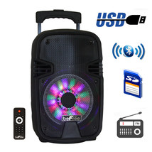 beFree Sound 7 Inch Bluetooth Portable Party Sp... - $102.59