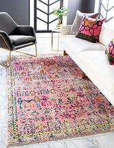 Rugs.com El Paso Collection Rug – 9' x 12' Pink Medium Rug Perfect for Living Ro - $319.00