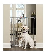 Carlson Extra Tall Walk Through Pet Gate with Small Pet Door, Includes 4... - $41.99