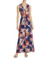 TOMMY BAHAMA Fireworks Fronds Sleeveless Maxi Dress, Dubarry Coral Size ... - £50.15 GBP