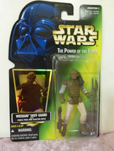 Kenner Star Wars Power Of The Force Weequay Skiff guard action figure ha... - $7.92