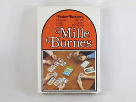 Mille Bornes 1971 French Card Game Parker Brothers 100% Complete Excelle... - $19.19