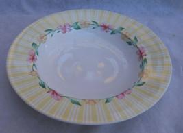 Pfaltzgraff Grandma's Kitchen Rim Soup Cereal Bowl S Atmosphere Pink Border - $6.92