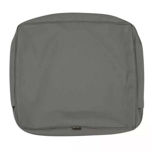 "Classic Accessories Montlake FadeSafe Cushion Slip Cover - 19""W x 20""H x 4""T image 3"
