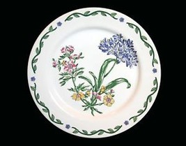 4 Terrace Blossom Colorful Floral Salad Plates New - $22.99