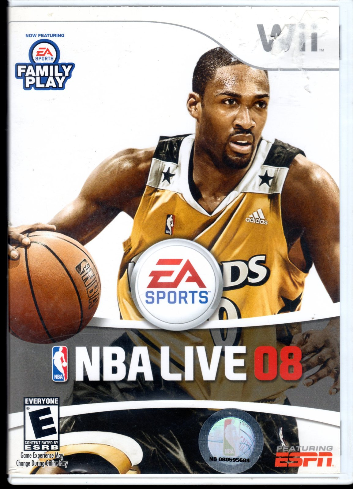 Primary image for EA Sports NBA Live 08 ( Wii Game)