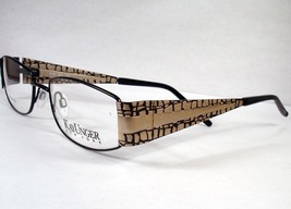 KAY UNGER 103 BLACK women  NEW eyewear Eyeglasses Frame Designer - $79.19