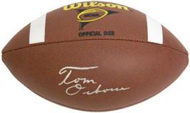 Tom Osborne signed NCAA Wilson Replica Composite Football  (Nebraska Cornhuskers - $116.95
