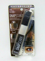 MAYBELLINE SNAPSCARA Easy On/Easy Off Mascara No.305 Bold Brown 0.34oz/10ml - $7.43