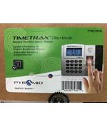 Pyramid TimeTrax Elite TTELITEEK Automated Biometric Fingerprint Time Clock - $395.95