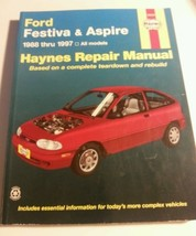 Haynes Repair Manual Book #36030 Ford Festiva &... - $22.76