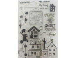 Home Sweet Home Clear Stamp Set