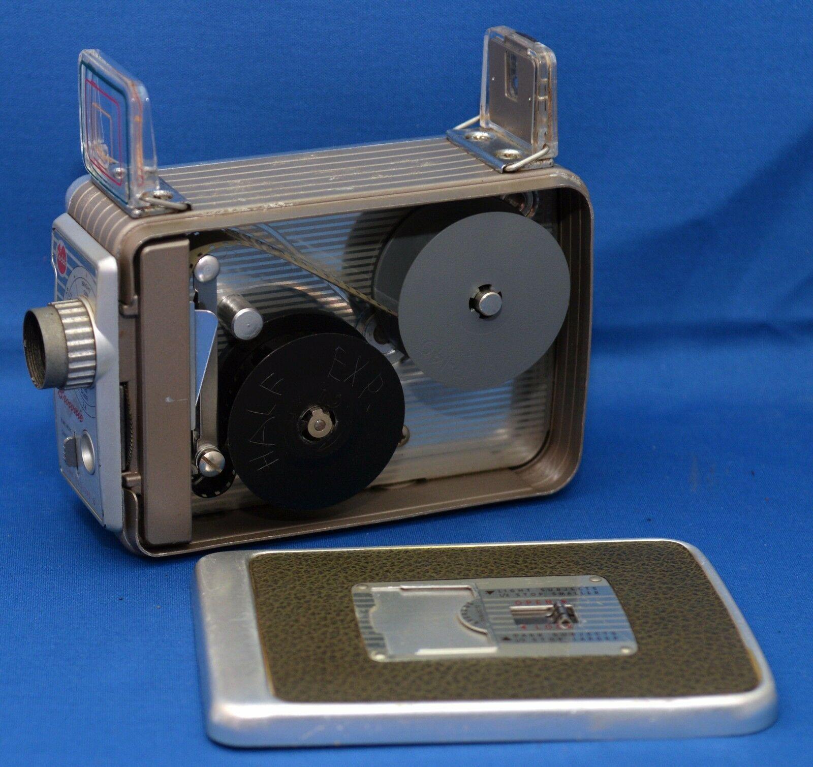 KODAK BROWNIE 8mm Vintage Movie Camera f/2.3 13mm lens USA