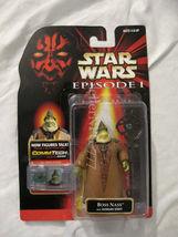 Star Wars Episode I Phantom Menace Boss Nass with Gungan staff 3.75 figure - $19.99