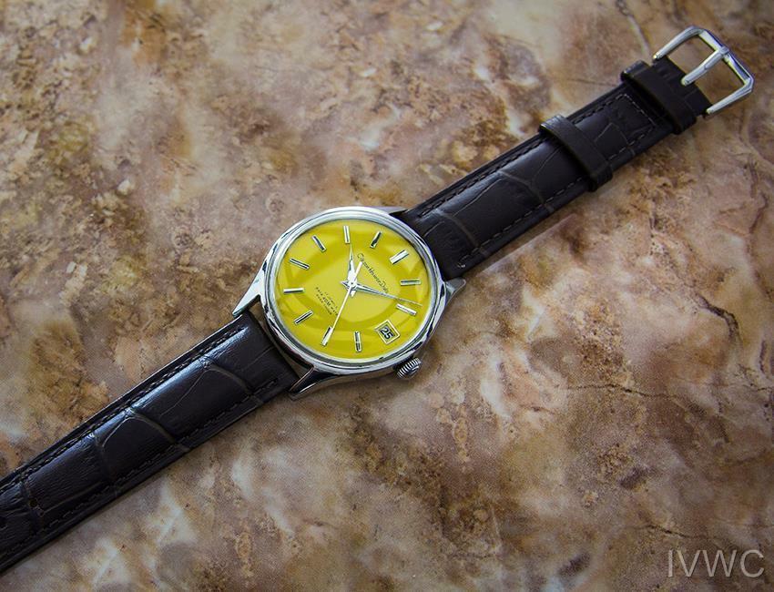 Citizen Homer Data Giapponese da Collezione Uomo Vintage Abito Watch c1960s B18 image 6