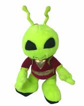 """Vintage Nanco Green Alien 18"""" Plush Burgundy Space Suit - $48.50"""