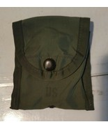 US Military Army First 1st Aid Compass Pouch Alice Clip OD Green Utility... - $4.99