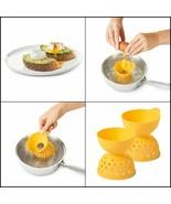 OXO Good Grips Silicone Egg Poachers (Set of 2) - $18.69