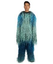 Adult Men's Hairy Warrior Ape Military Leader Resistance Fighter Costume... - $122.85