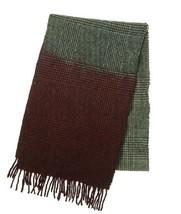 Altea Lana Wool Blend Plaid Scarf Grey/Red Plaid - $49.49