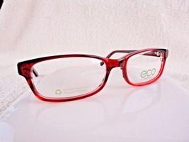 Earth Conscious Optics (ECO) Mod 1021 Dark Burgundy 53X16 140 mm Eyeglas... - $19.75