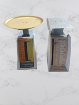 Trim A Way and SunBeam Dietetic ounce and gram scales Vintage 1960s  - $16.99