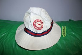 Rare Vintage Ted Williams Camp Lakeville Mass Bucket Hat Summer Red Sox One Size - $69.29