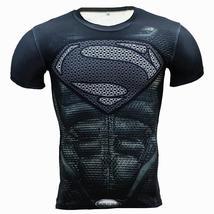 New Fitness Compression Shirt Men Anime Superhero Punisher Skull Captain... - $19.99+