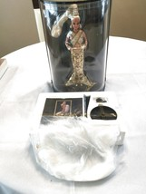 1990 BOB MACKIE GOLD BARBIE AND ACCESSORIES NEW IN DISPLAY CASE WITH SHI... - $139.00