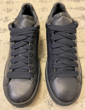 Coach Womens Lo-Top Midnight Navy Leather Baseball Sneakers Size US 8 Nice! B6 - $78.21