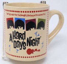 The Beatles Coffee Mug A Hard Day's Night Movie Film Collectible Tea Cup... - $27.04