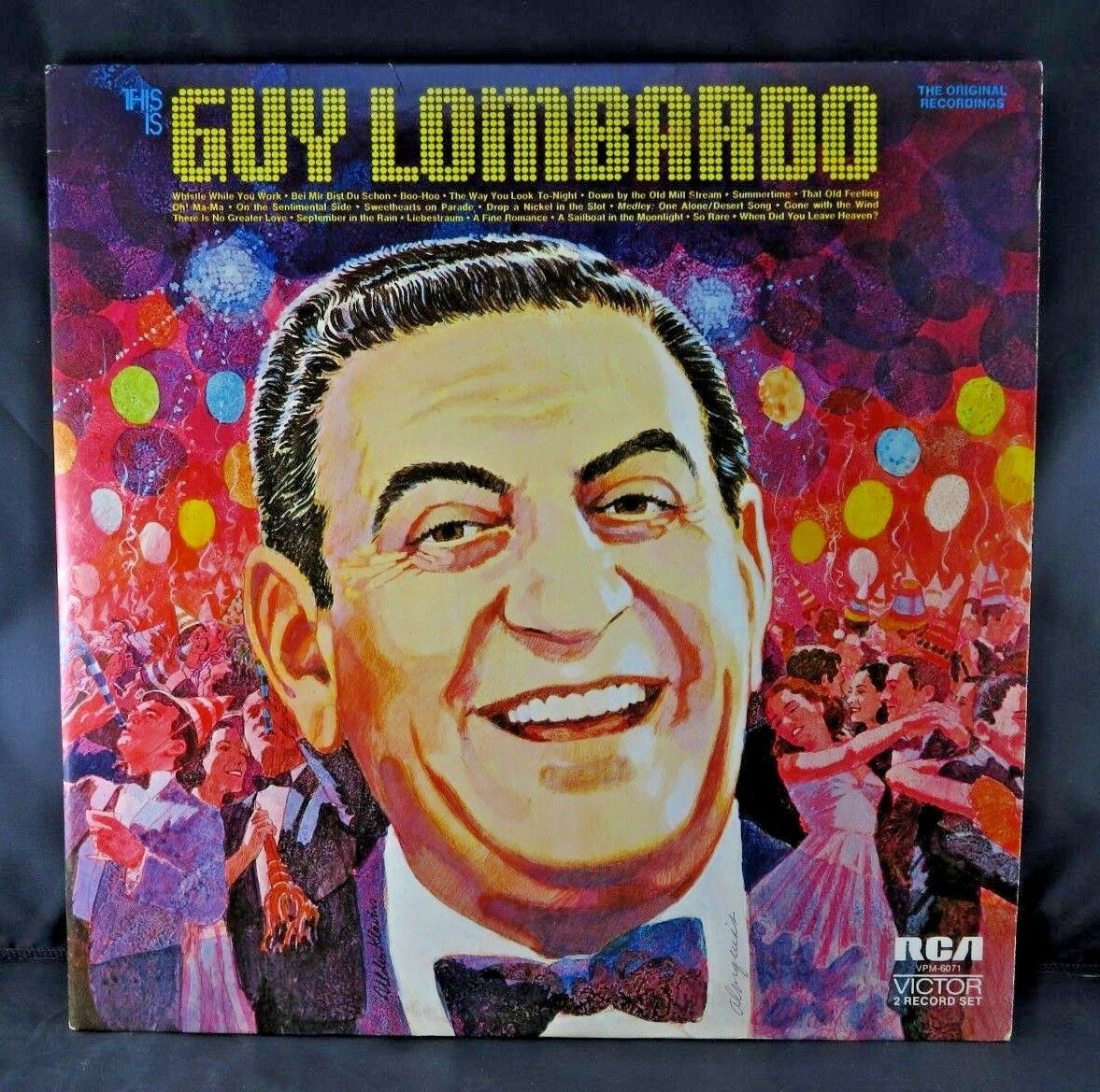 "Primary image for This Is Guy Lombardo 12"" VINYLS LP Double Record Set 1972 RCA Victor VPM-6071"
