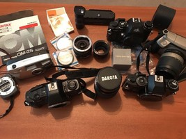 Vintage Camera Lot, Digital Lot & Accessories For Parts/Repair - $65.44
