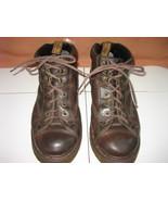 Men's DR. MARTENS 8287 Air Wair Dark Brown Leather No-Slip Hiking Ankle ... - $55.00