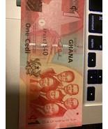 Ghana Cedi  I Cedi And Five Cedi - $9.90