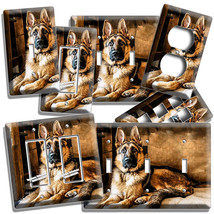 Gorgeous Adult German Shepherd Dog Light Switch Outlet Wall Cover New Room Decor - $9.99+