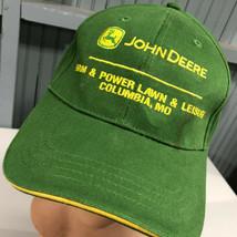 John Deere Tractor Columbia Missouri Strapback Baseball Cap Hat - $16.42