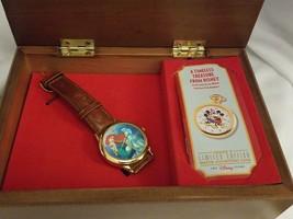 FOSSIL Disney Collectors Watch Club LITTLE MERMAID ARIEL Music Box Limit... - $94.00